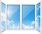 П-образный балкон - Пластиковые окна купить в Москве, цены, стоимость